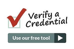 Verify a Credential
